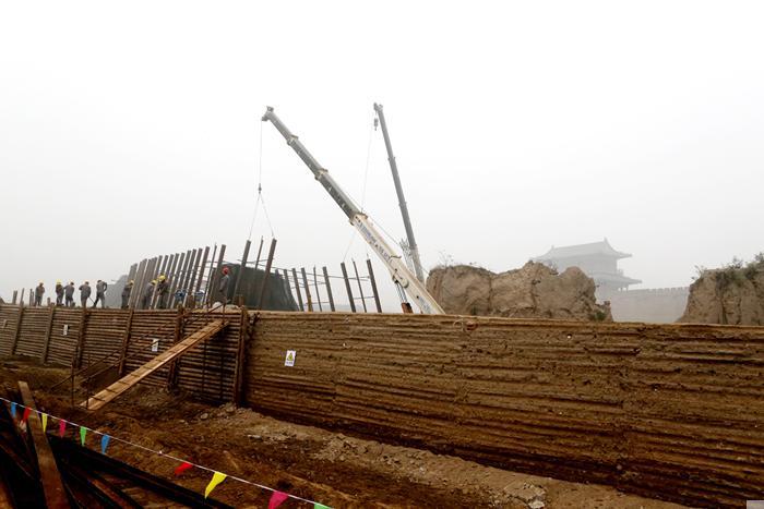 南门系统保护修缮工程有序推进(图文)